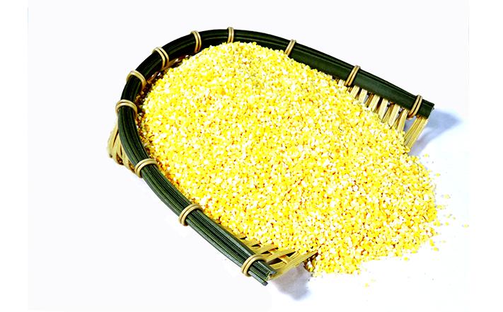 绿色玉米糁